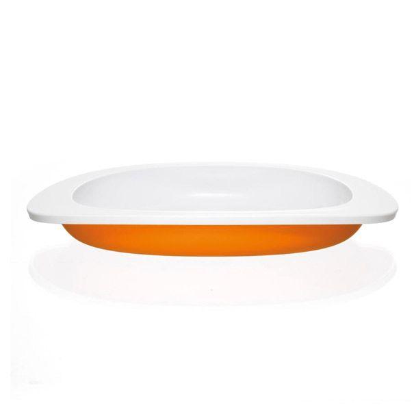 Toddler tallerken i orange