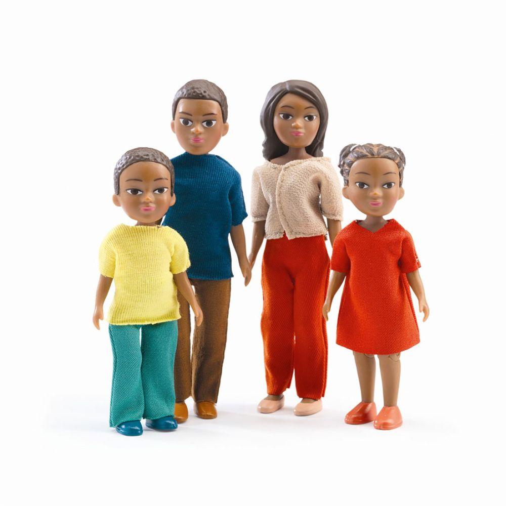 Dukker til dukkehus fra Djeco Milo og Lila