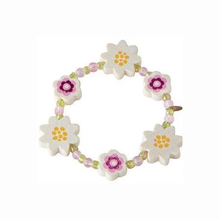 Armbånd fra HABA med blomster