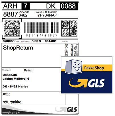 GLS pakkesedel