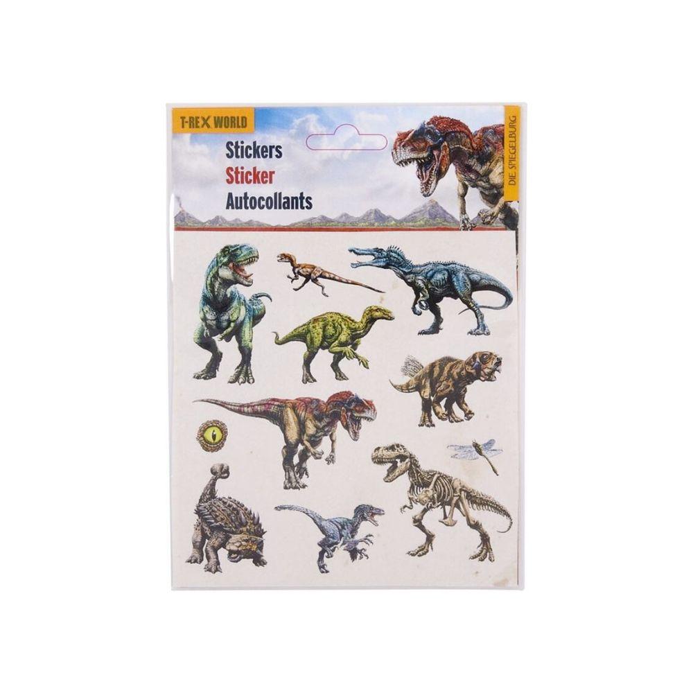T-rex world stickers med dinoer