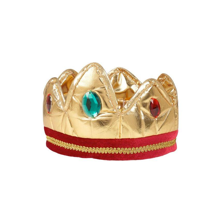 Kongekrone Louis Udklædning 3-10 år