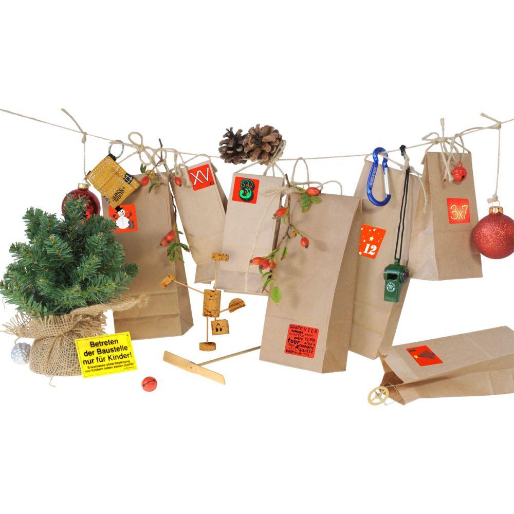 Julekalender med 24 gaver krea og værktøj