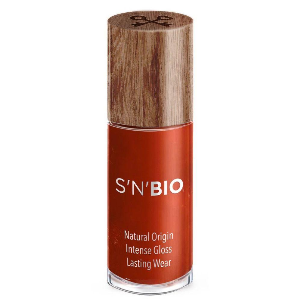 neglelak bio formel der er 85 procent fra naturen. Kemifri neglelak til gravide og børn i farven rust rød