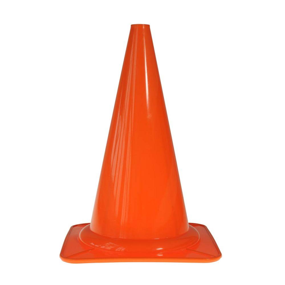 orange kegle til afmærkning måler højde 29 centimeter