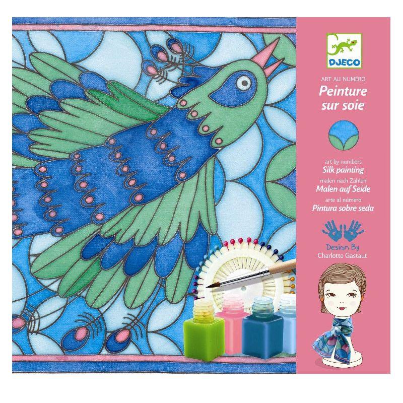 Kreativ æske fra Djeco med silkemalling