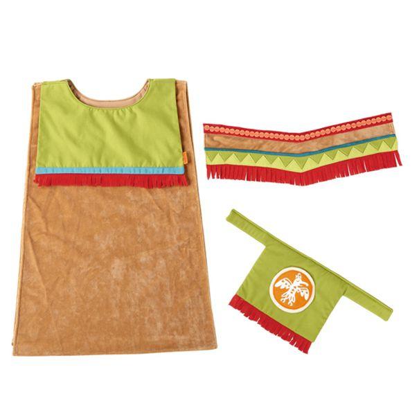 HABA udklædningstøj indianer