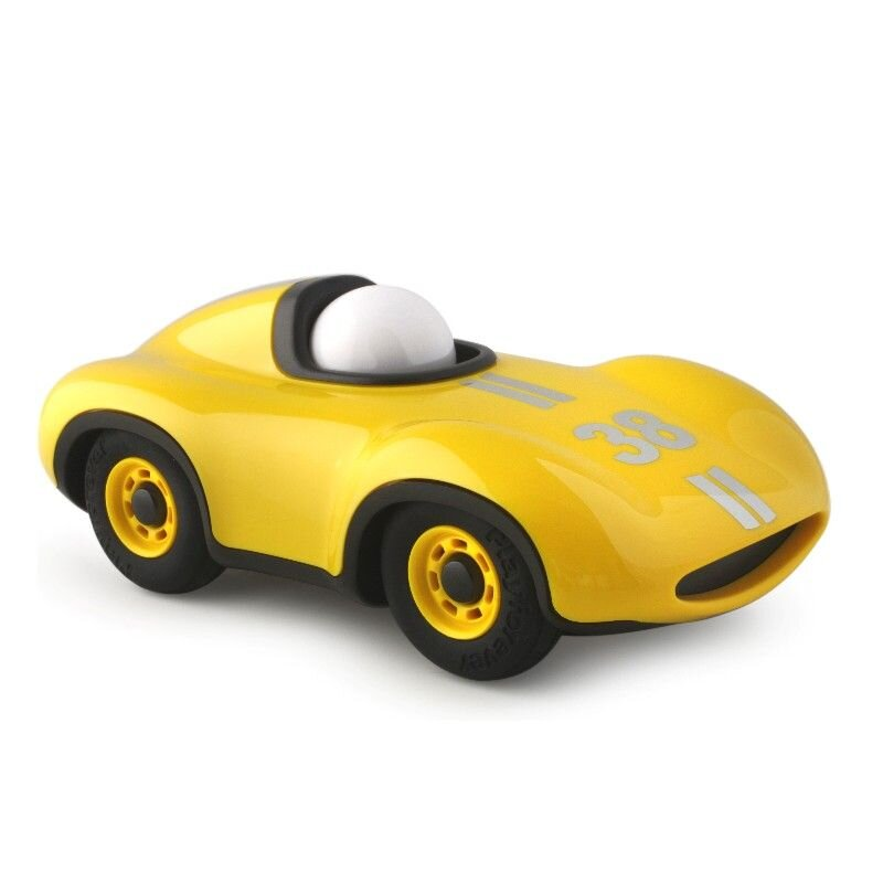 Playforever Le Mans bil gul se Olisan.dk