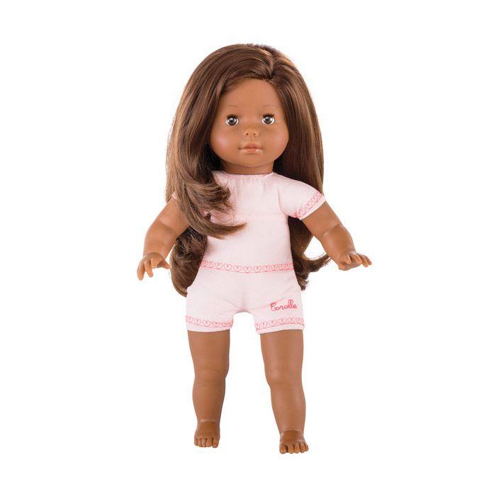 Macorolle 36 cm. dukke chokolade