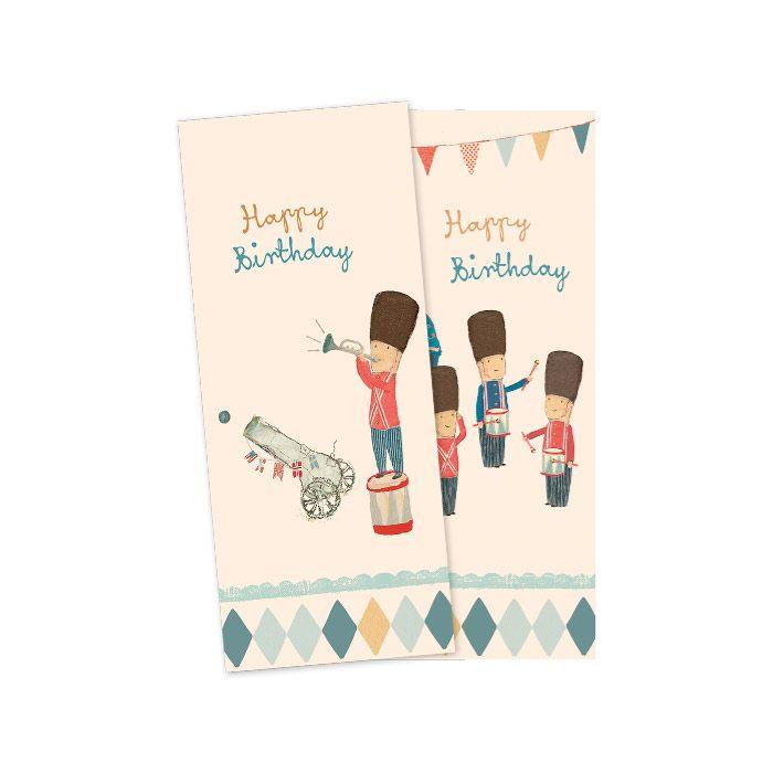 Maileg serviet med garder happy birthday Olisan.dk
