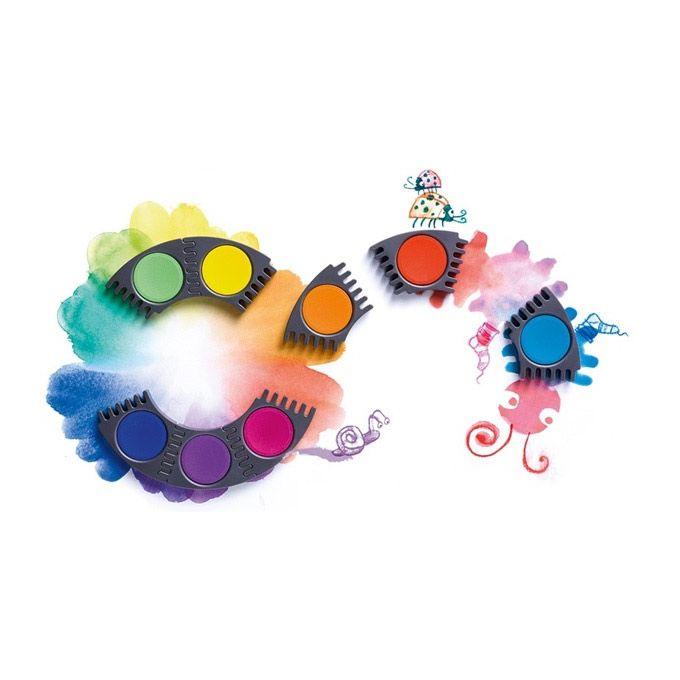 Løse refill farver til Faber-Castell vandfarve