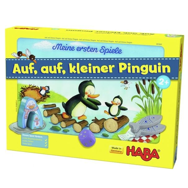 HABA Spil for de små kom så lille pingvin - Olisan.dk