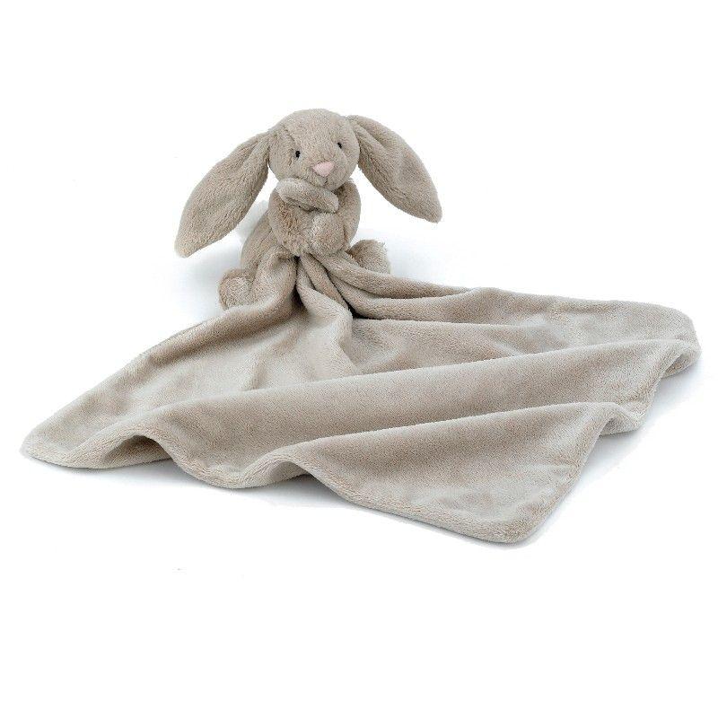 Jellycat nusseklud Bashful kanin i beige