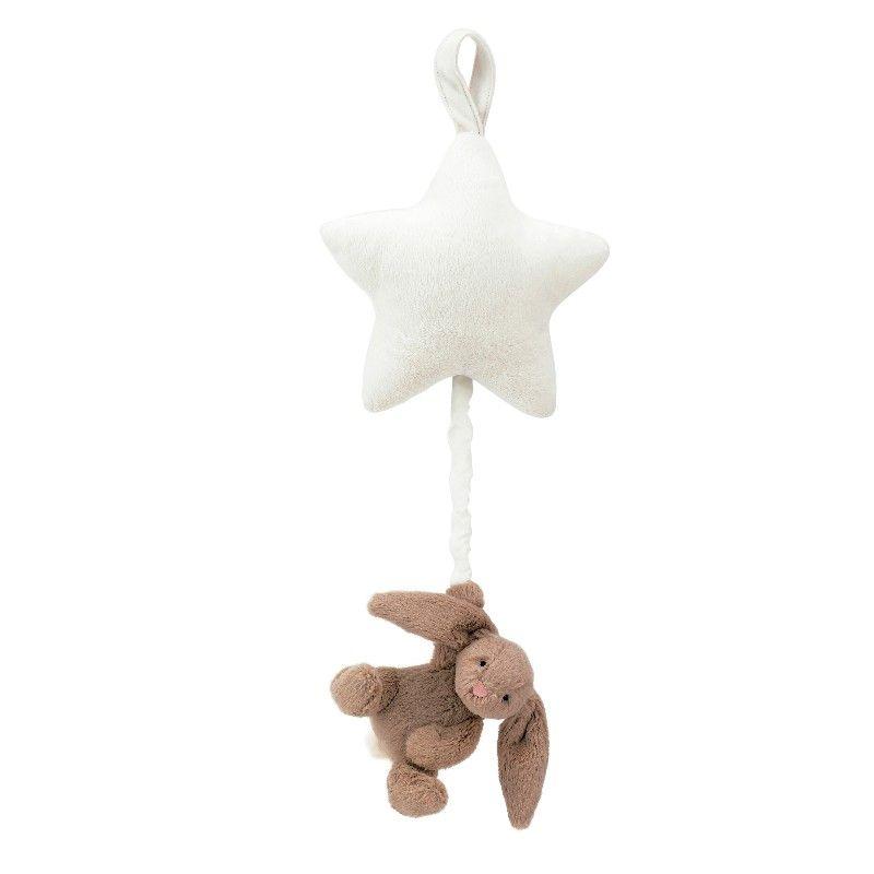 Jellycat spilledåse Bashful kanin i beige