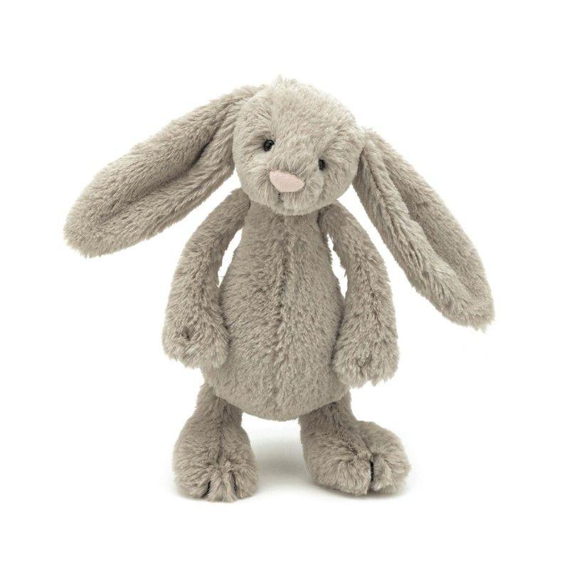 Lille kanin fra Jellycat i beige Olisan.dk
