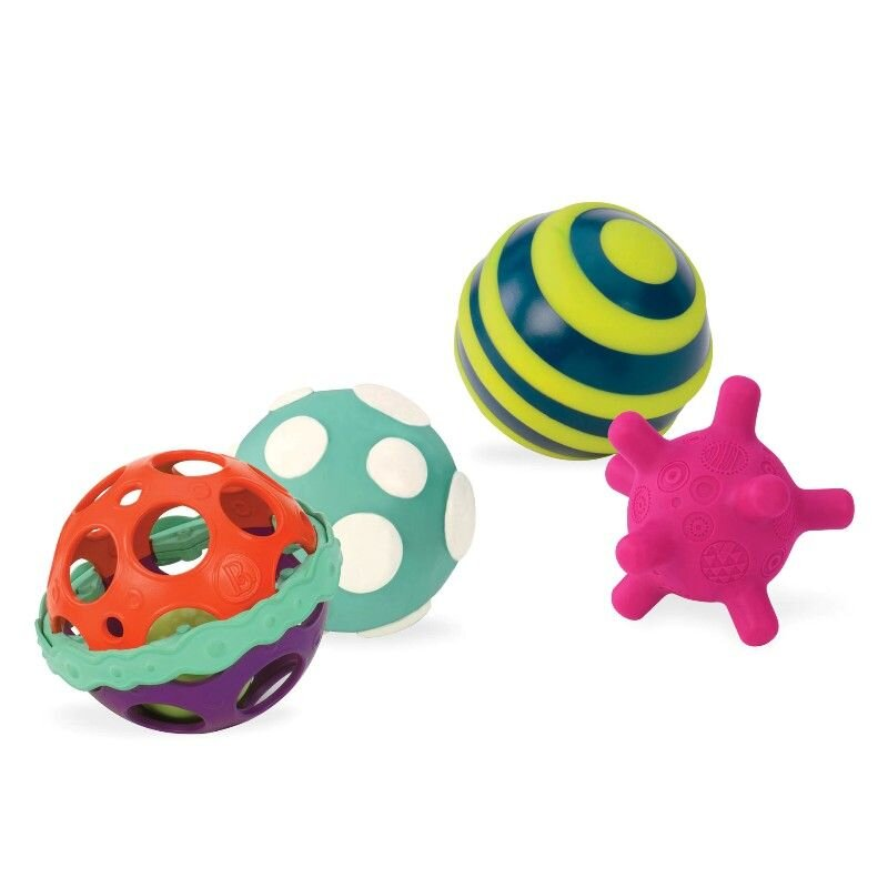 B Toys sansebolde 4 stk Olisan