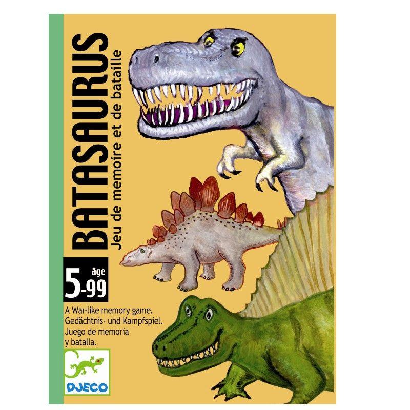 Djeco kortspil med dinosarus krig