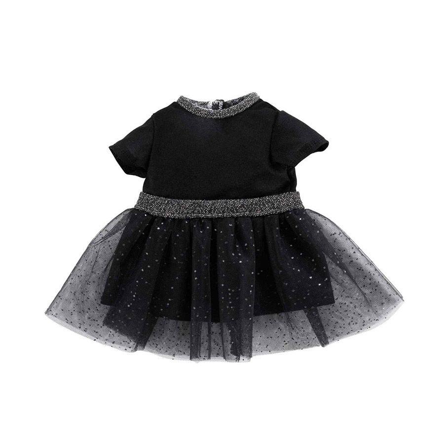 Sort tyl kjole til dukke Ma fra Corolle