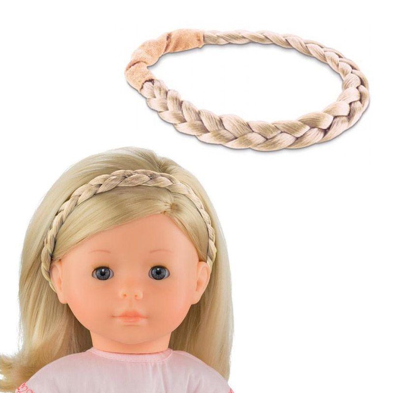 Fletning til dukker med lyst hår