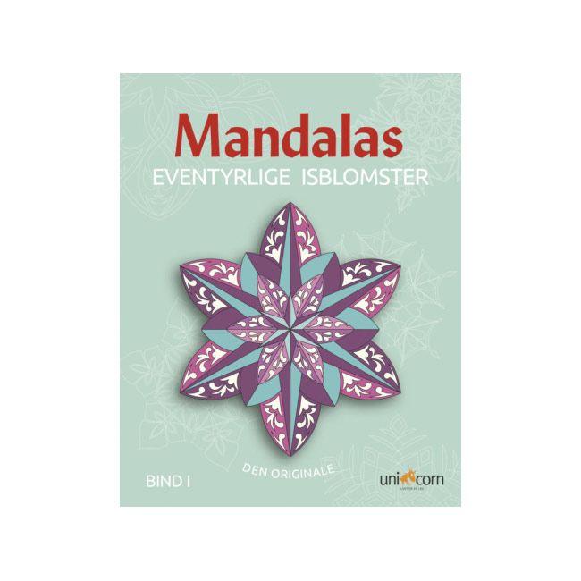 Mandalas malebog isblomster bind 1 Olisan.dk