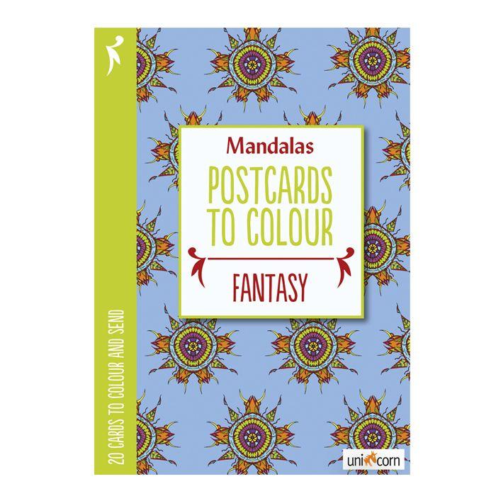 Mandalas Postkort Fantasy - Olisan.dk