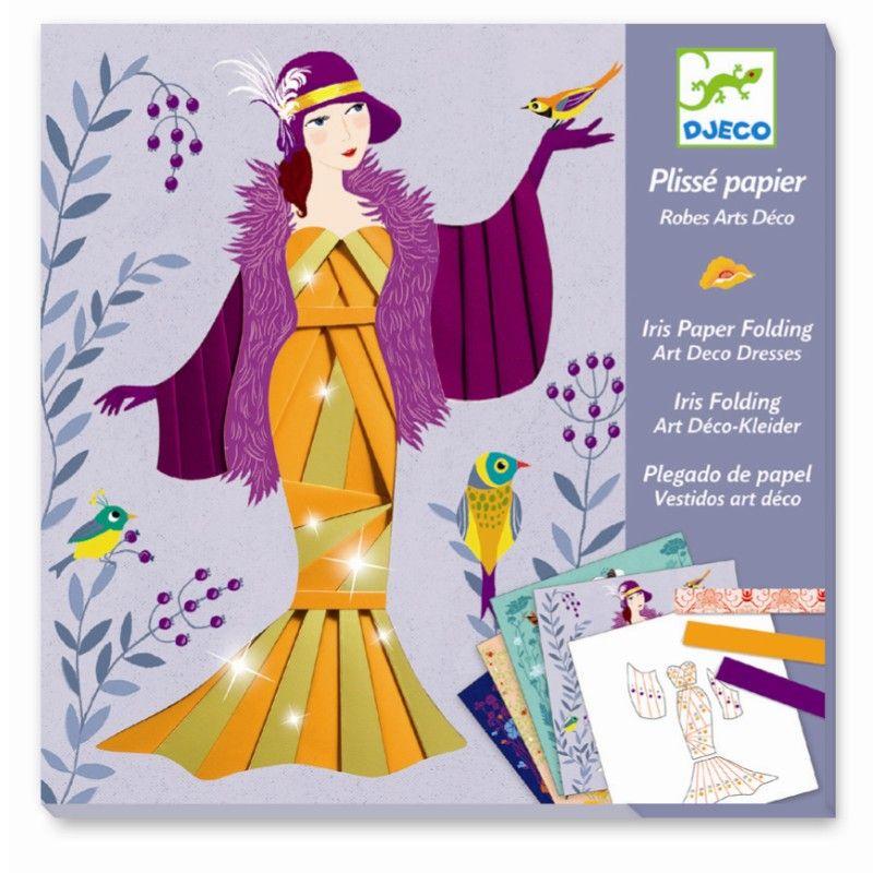 Djeco workshop papirfolderi aftenkjoler
