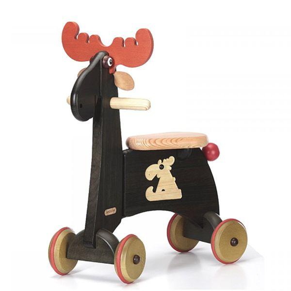 Scooter i træ - Mr. Elg - Olisan.dk