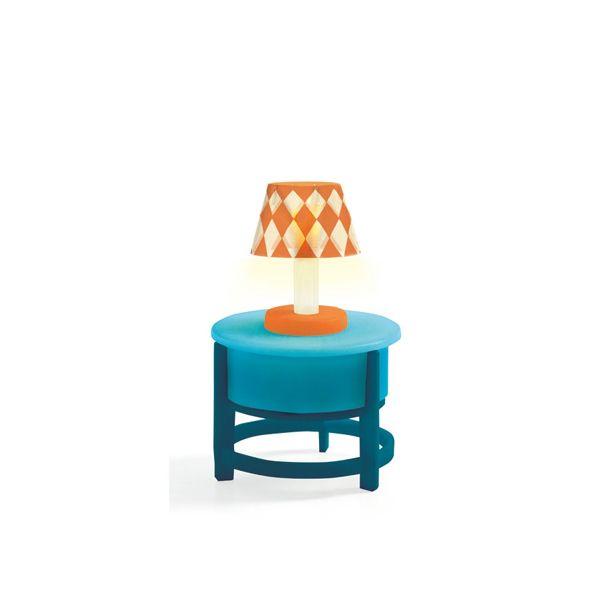Djeco dukkehus lys lampe