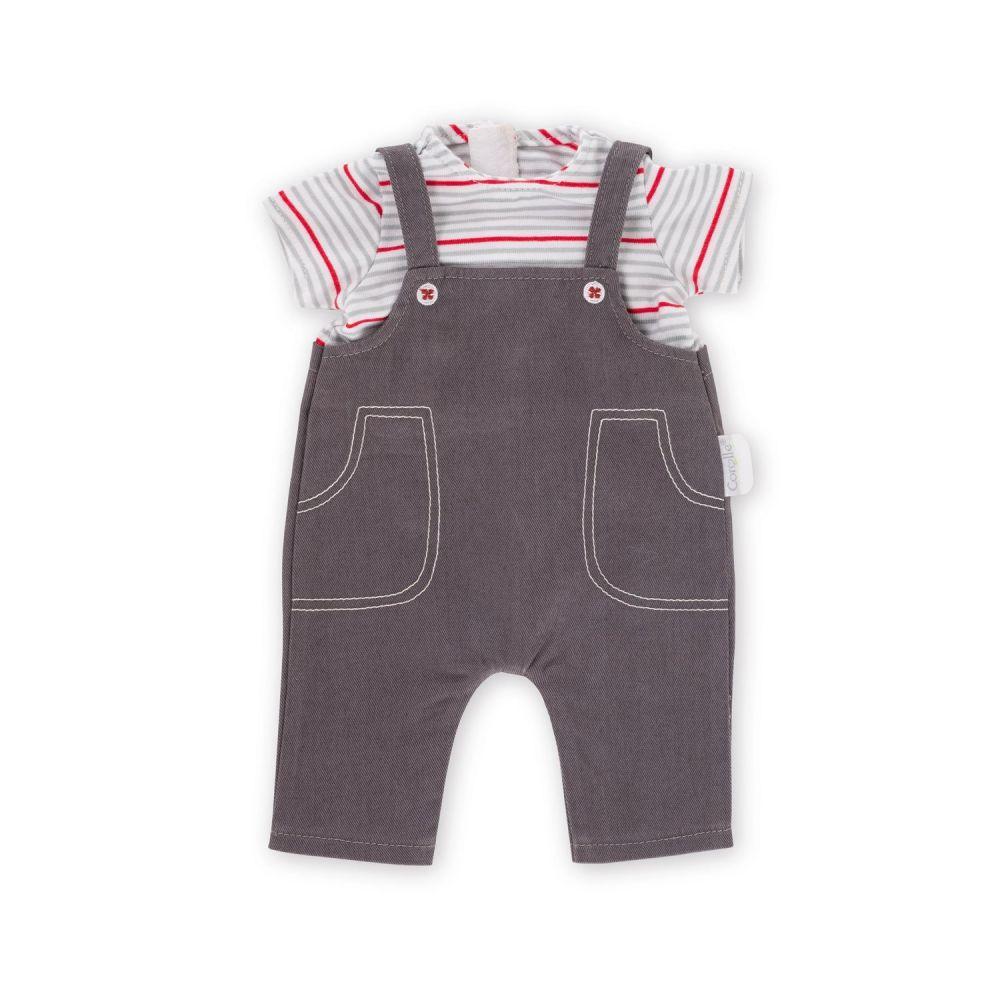 Corolle overalls med t-shirt