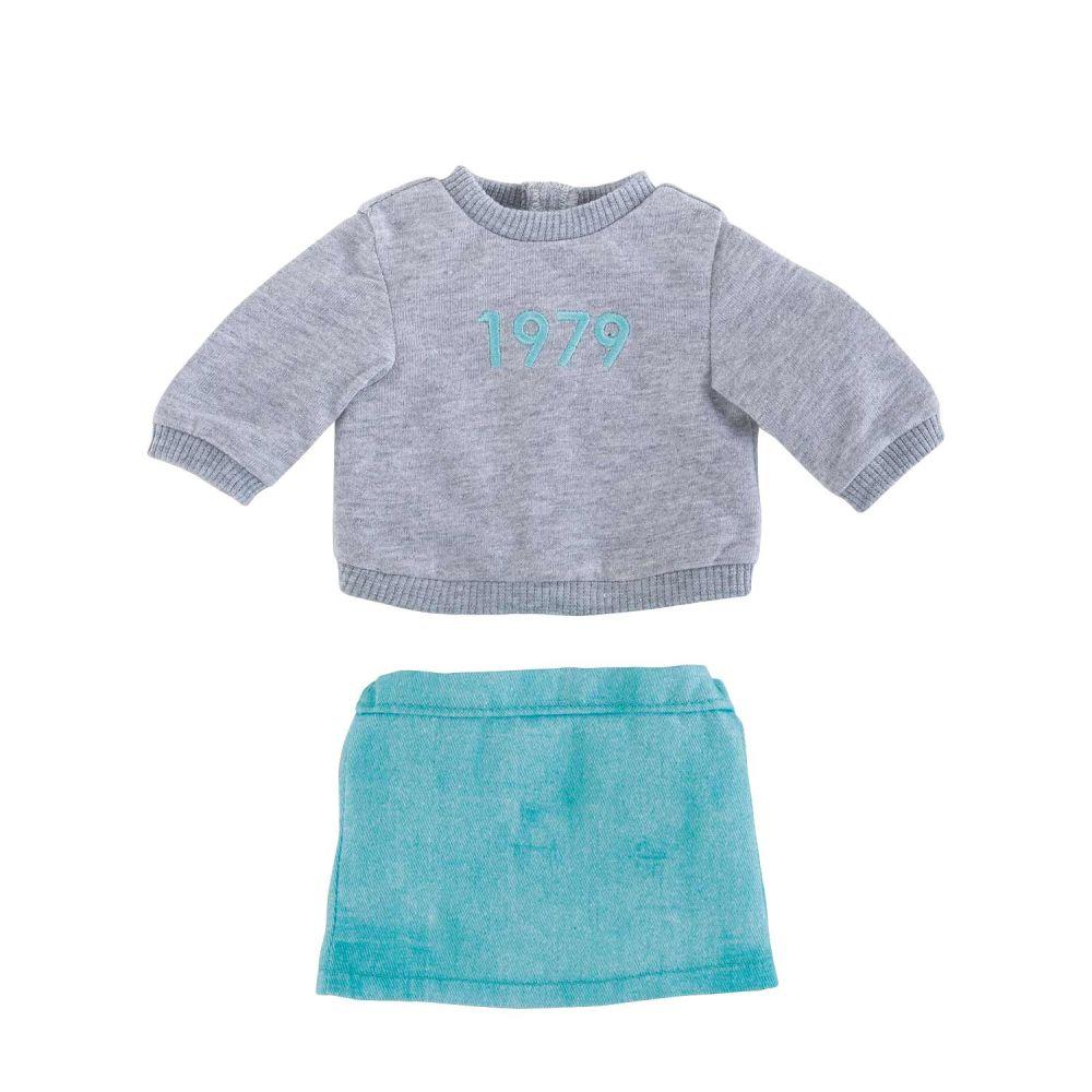 Corolle tøj til Ma bluse og nederdel