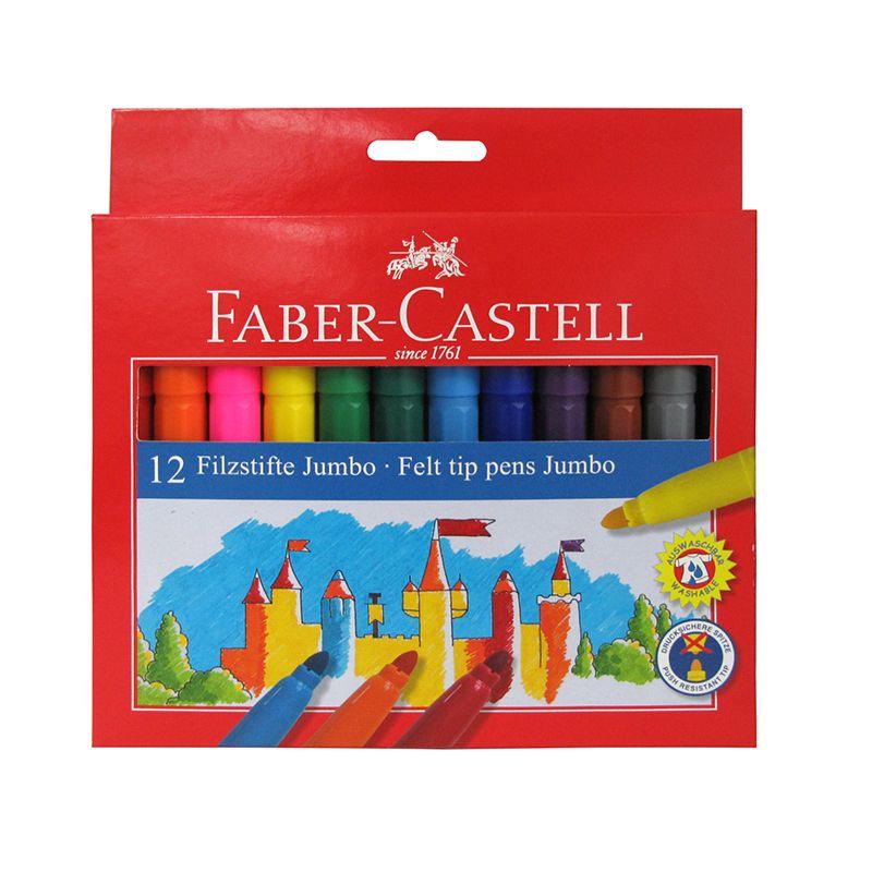 Faber Castell jumbo tusser 12 stk