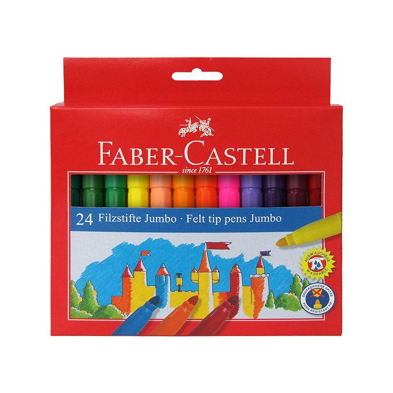 Faber-castell jumbo tuscher 24 stk olisan.dk