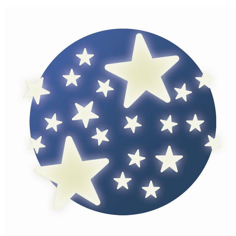 Selvlysende stjerner fra Djeco