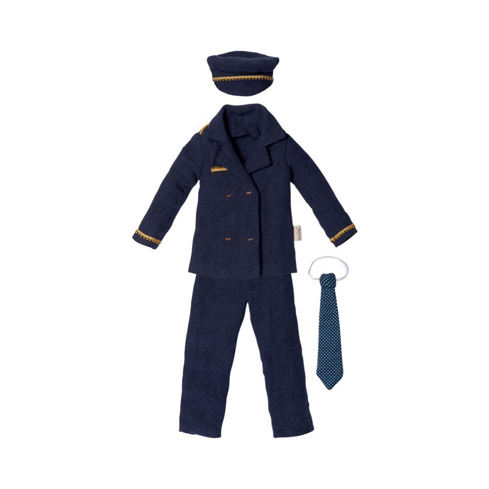 Maileg Ginger Far Pilot uniform str. S olisan.dk