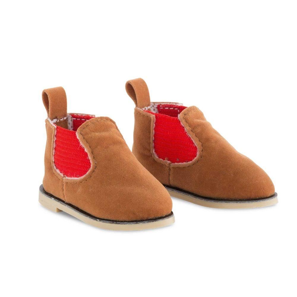 Læder boots til dukke Ma