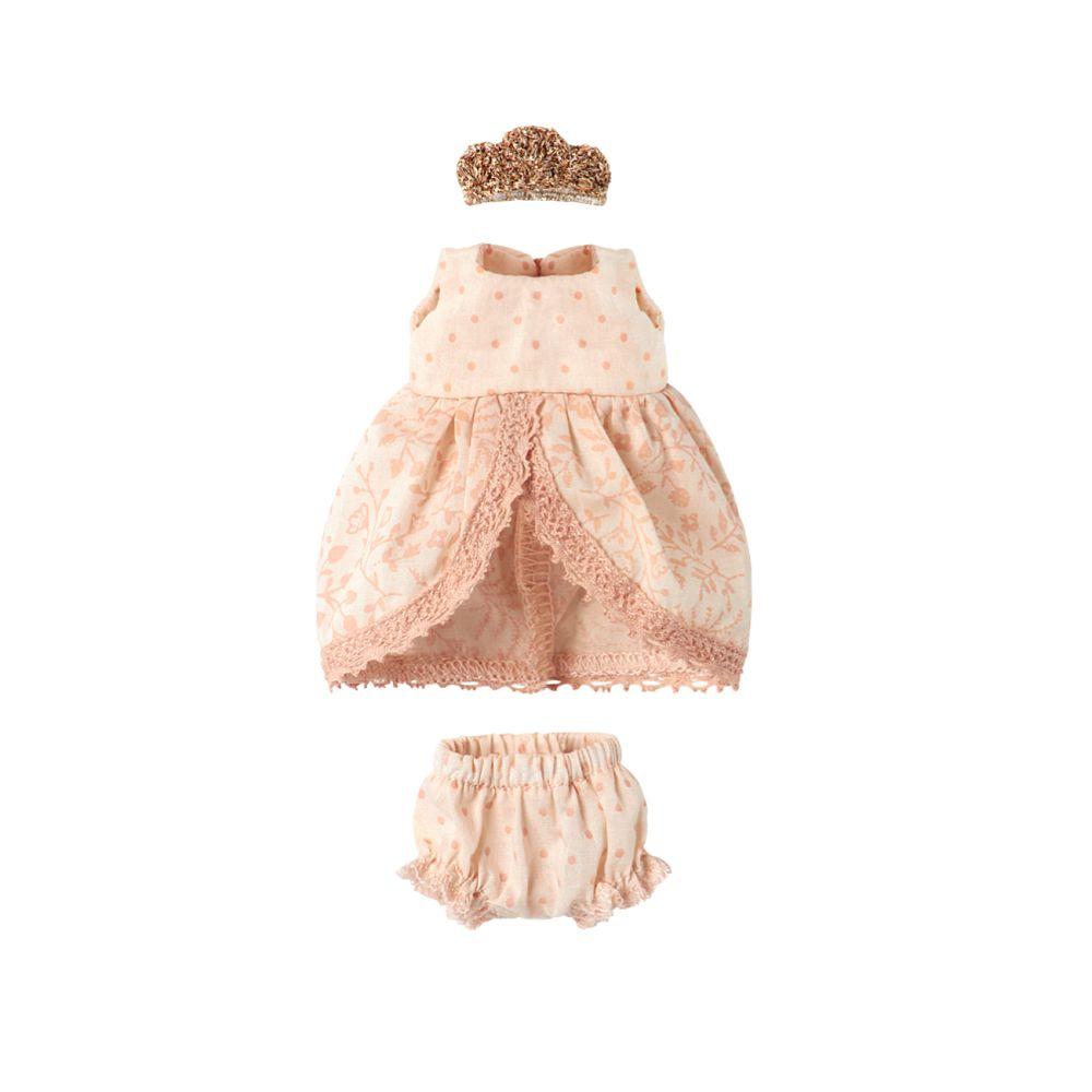 Maileg Micro prinsessekjole pudderfarvet
