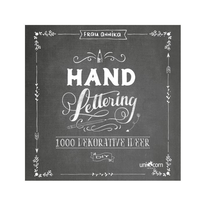 Hvordan kommer jeg i gang med hand lettering