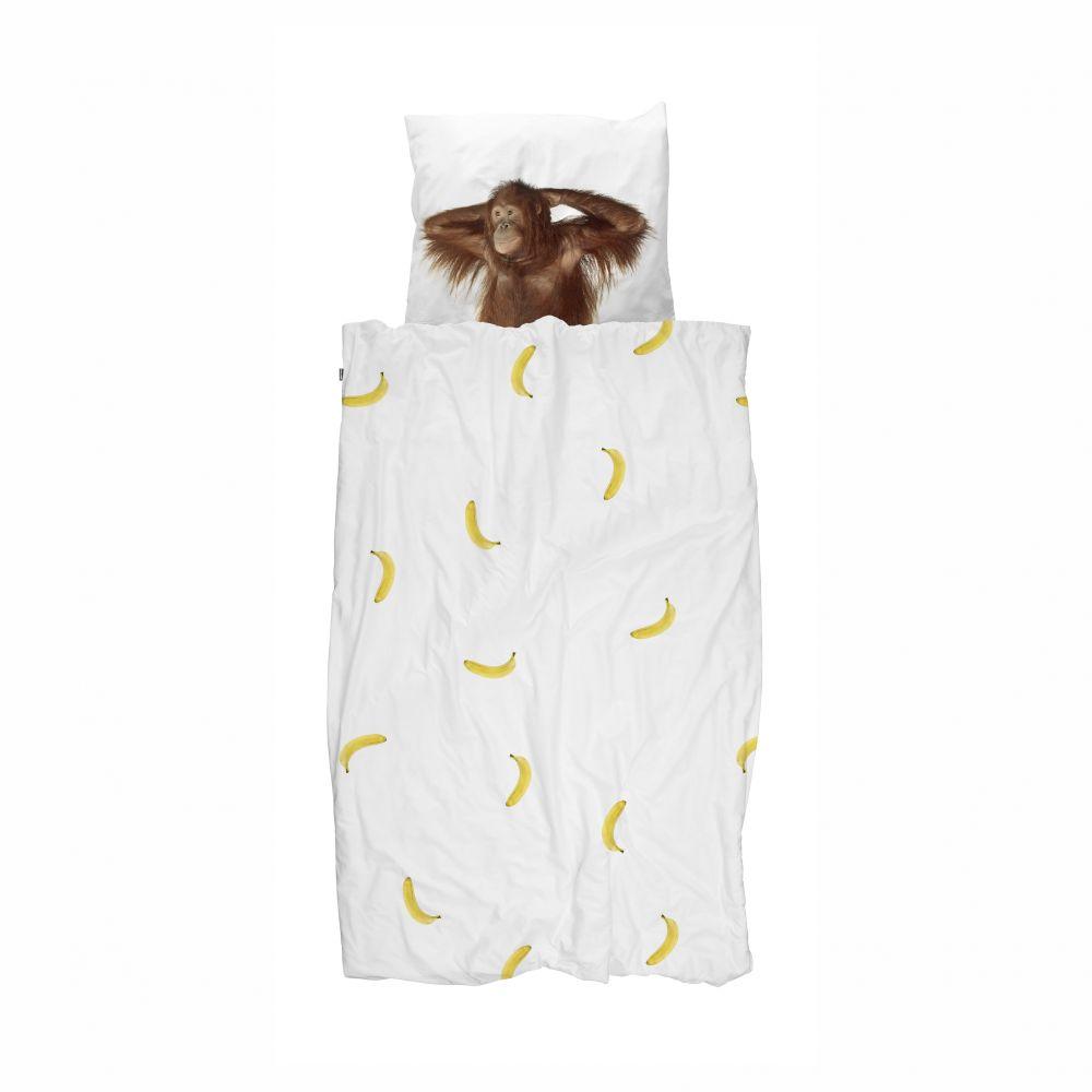 banana monkey voksen sengetøj