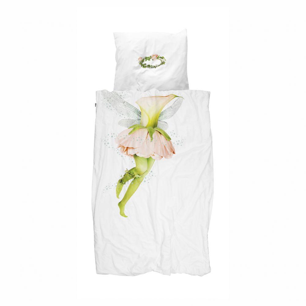 Snurk blomsterfe sengetøj voksen