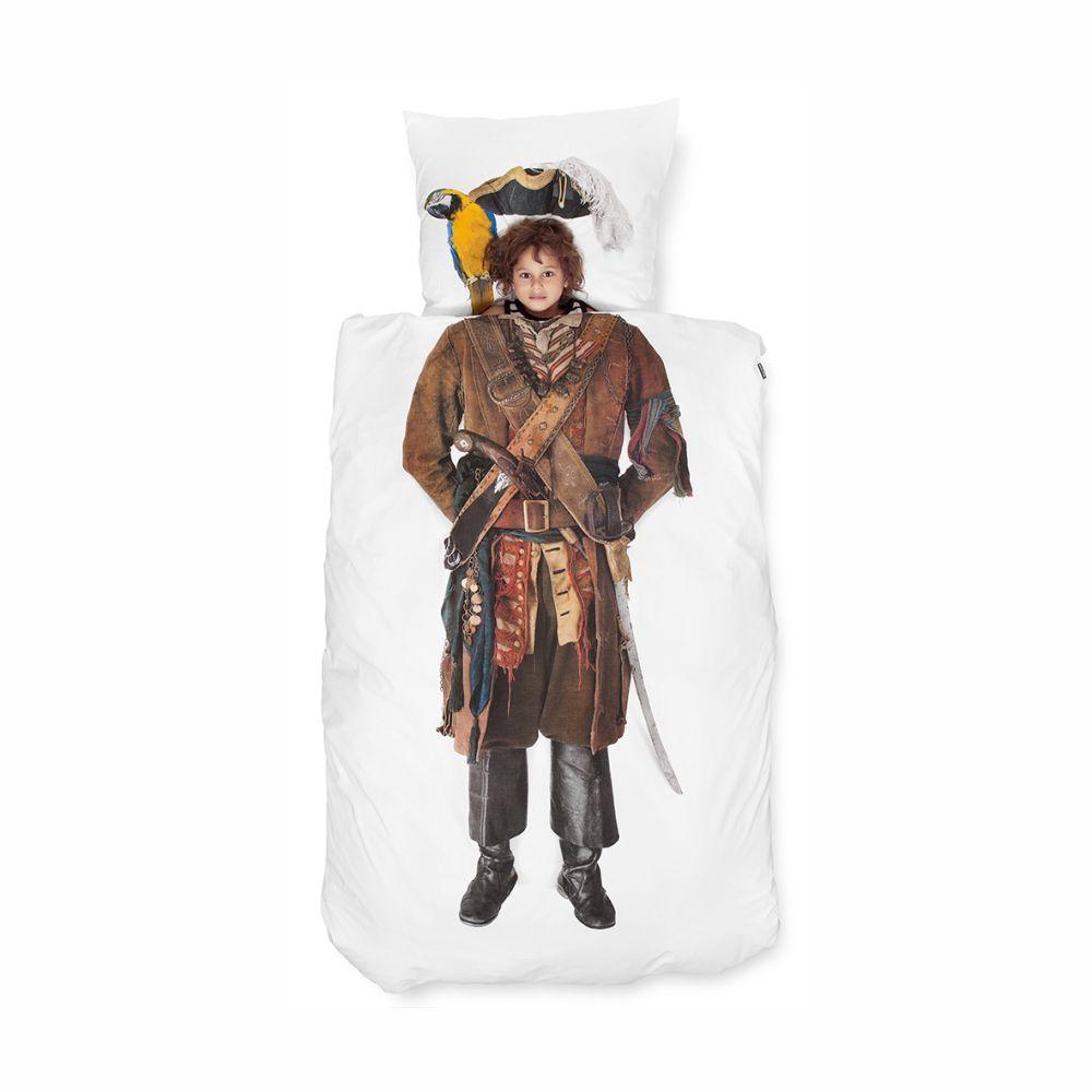 Snurk junior sengetøj med pirat