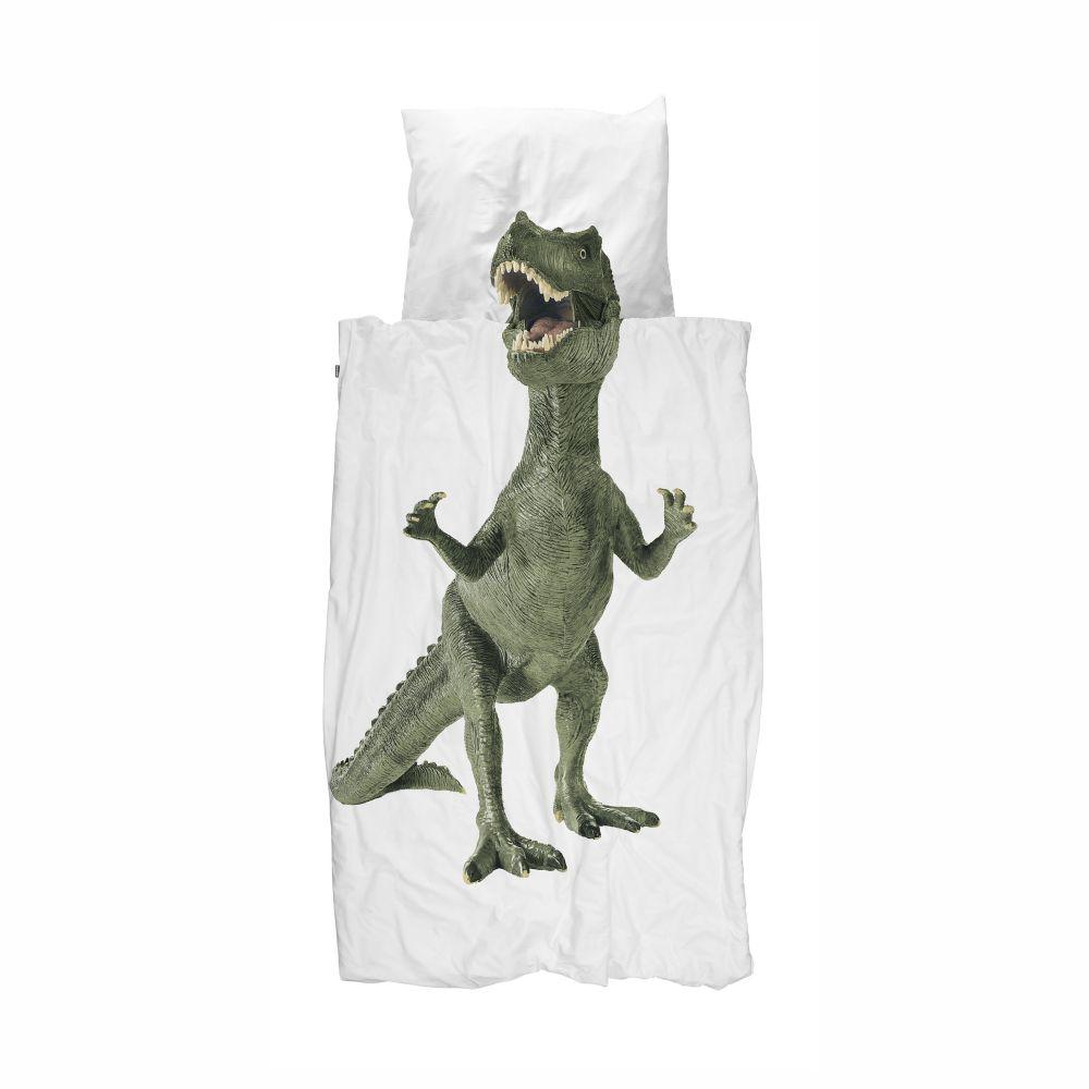 T-Rex sengetøj fra snurk i junior str.