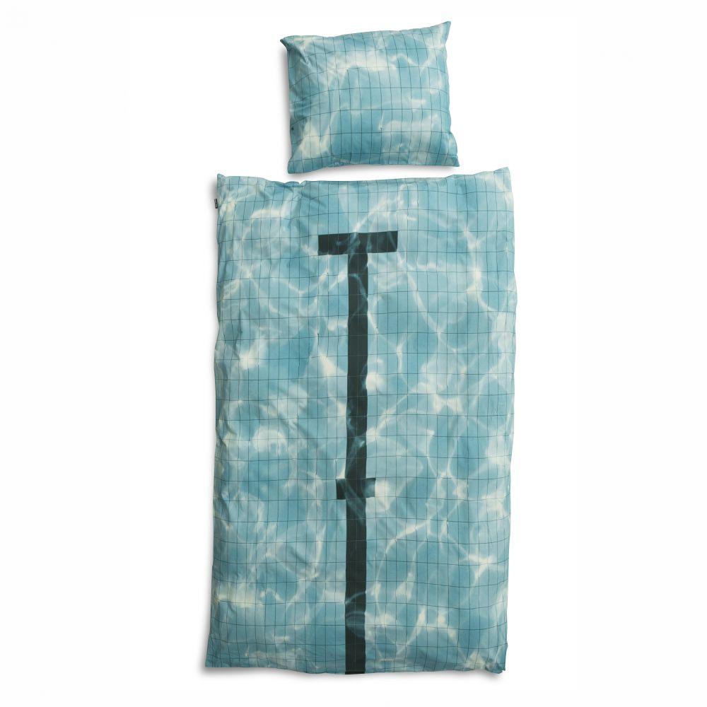 sengetøj med pool fra snurk