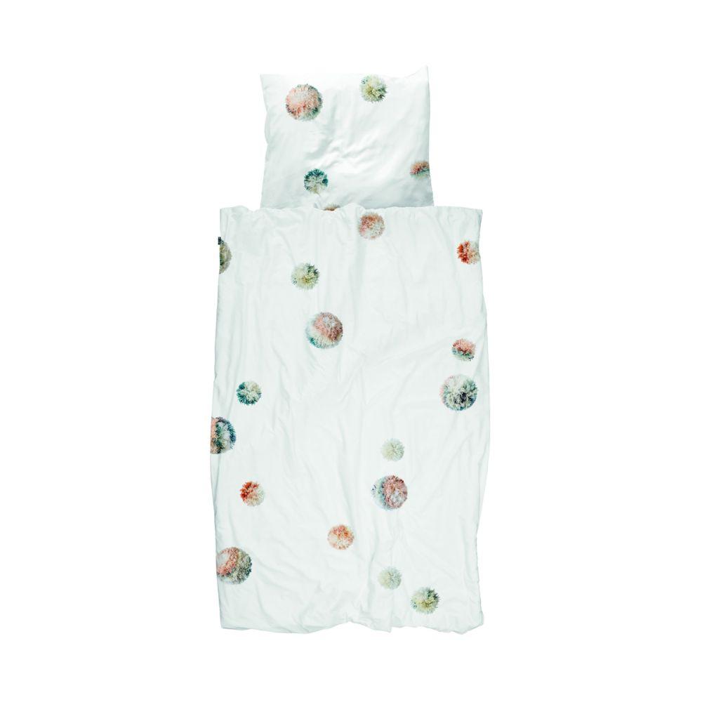 sengetøj med pom pom fra snurk