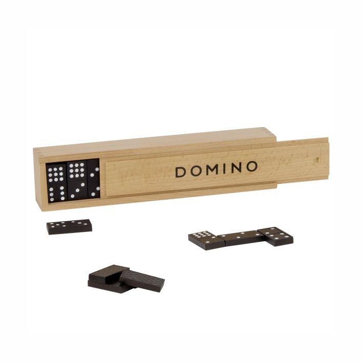 Klassisk domino spil med 55 brikker