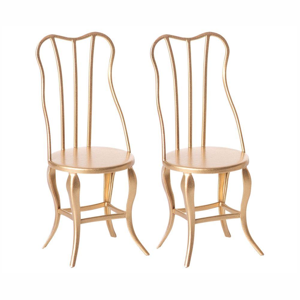 Maileg vintage stole i guld micro