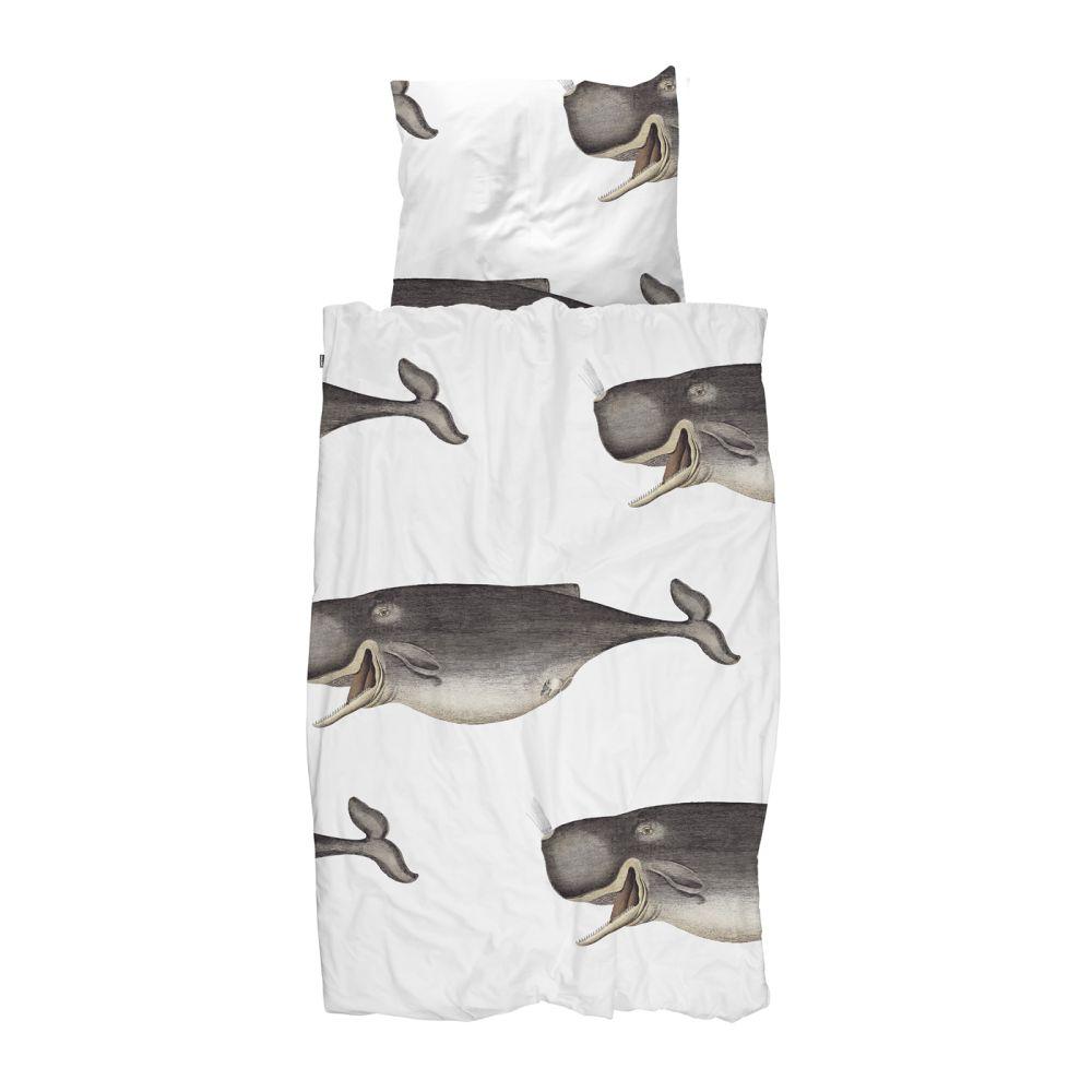 Snurk sengetøj med hvaler