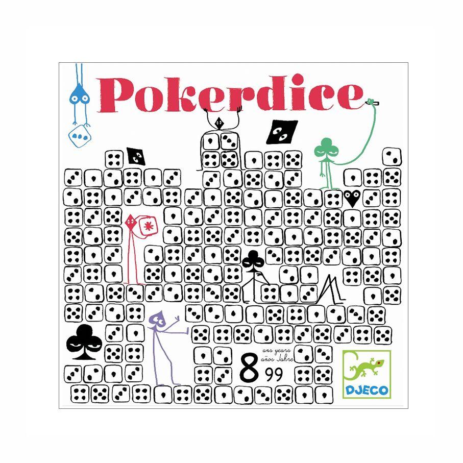 spil poker dice fra djeco