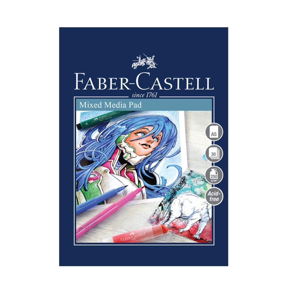 A5 tegneblok 250g fra faber-castell