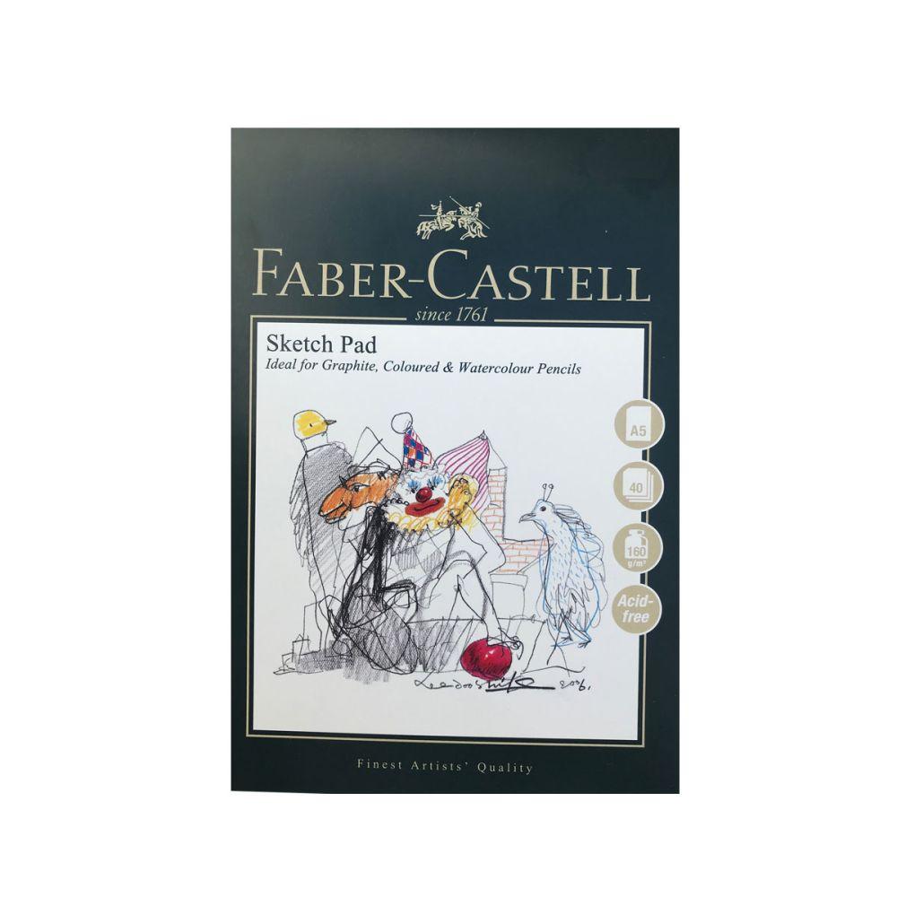 tegneblok med syrefrit papir fra Faber-Castell