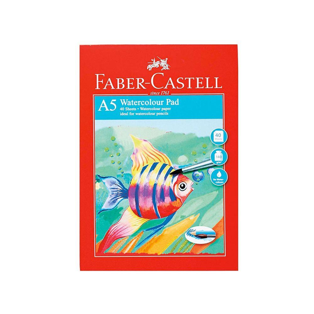 blok til vandfarve A5 fra Faber-castell